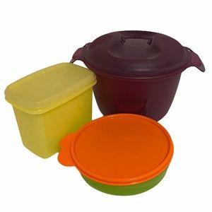 Tupperware lot. 7 pieces (including lids)